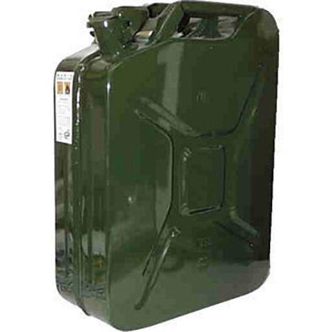 Steel Jerry Can 20 Litre - Green - Orbit - Liquid Storage - Lapwing UK