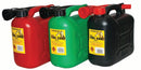 5 Litre Plastic Fuel Can and Flexible Spout - Orbit - Liquid Storage - Lapwing UK