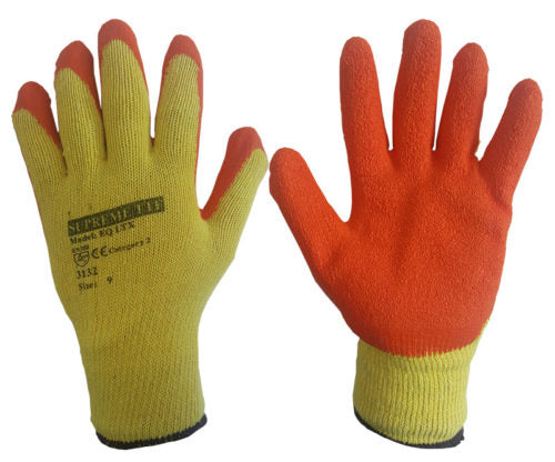 Latex Coated Economy Gripper Glove - Azured - Hand Protection - Lapwing UK