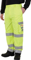 "Arc Yellow Cargo Trouser 30"" - 42"" - LapwingUK - Arc Compliant Clothing - Lapwing UK"