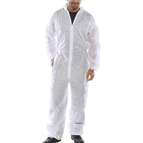 Disposable Boiler Suit - Azured - Disposable & Protective Clothing - Lapwing UK