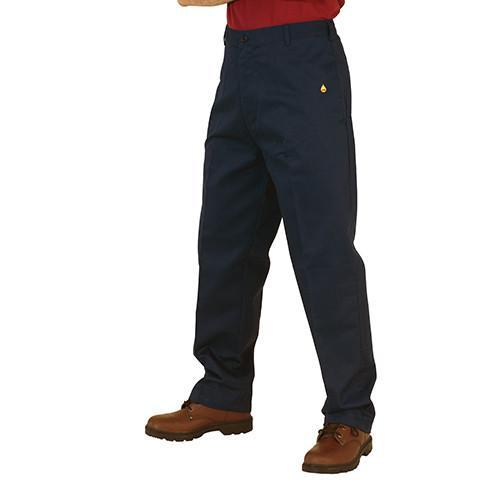 Flame Retardant Trousers Navy - Azured - Flame Retardant - Lapwing UK