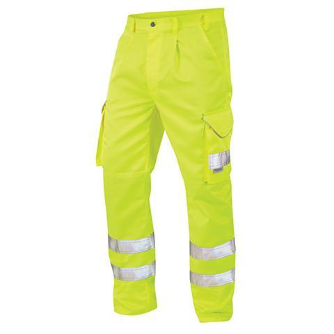 Professional Yellow Hi Viz Trouser