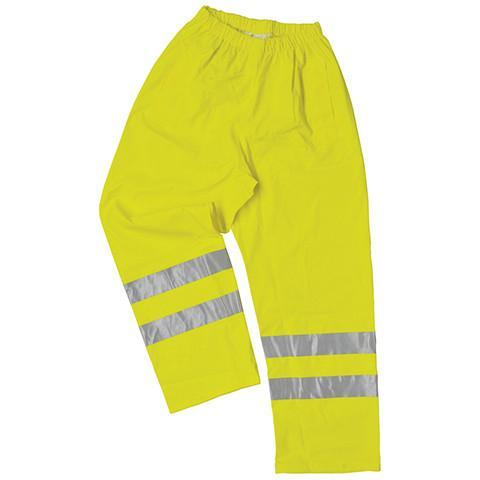 Breathable High Viz Waterproof Trousers - Azured - Waterproof Clothing - Lapwing UK
