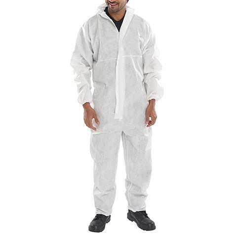 Disposable Boiler Suit Micropore - Azured - Disposable & Protective Clothing - Lapwing UK