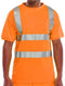 Crew Neck T-shirt - Orange - Azured - General Hi Vis - Lapwing UK