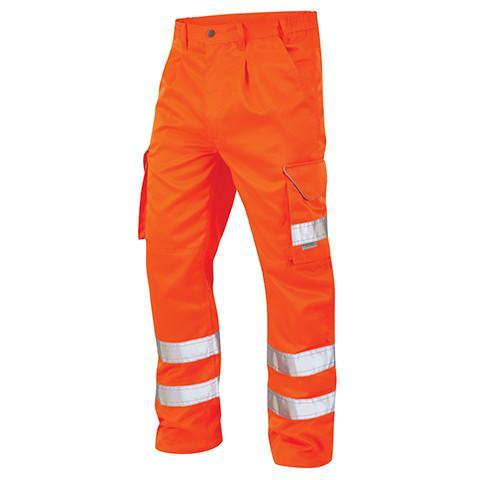 Professional Orange Hi Viz Trouser - Azured - Rail Spec - Lapwing UK