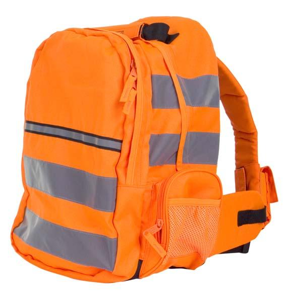 Hi-Vis Rucksack - Orange - Azured - Working at Height Protection - Lapwing UK