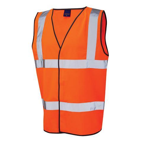 Class 2 Orange Hi Viz Waistcoat - Azured - General Hi Vis - Lapwing UK