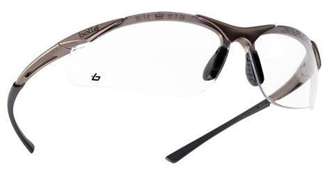 Bolle Contour Specs - Clear - Azured - Eye Protection - Lapwing UK