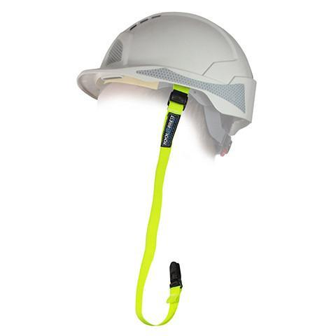3155 Clamp Hard Hat Lanyard Standard - Azured - Working at Height Protection - Lapwing UK