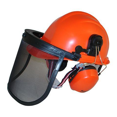 S59 Forestry Helmet & Visor Set - Azured - Head Protection - Lapwing UK