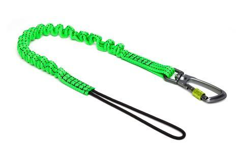 Standard Bungee Lanyard with Carabiner - Azured - Working at Height Protection - Lapwing UK