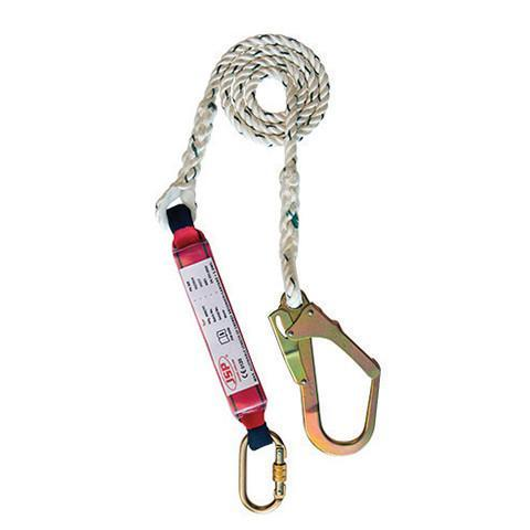 2M Single Tail Fall Arrest Lanyard - Azured - Working at Height Protection - Lapwing UK