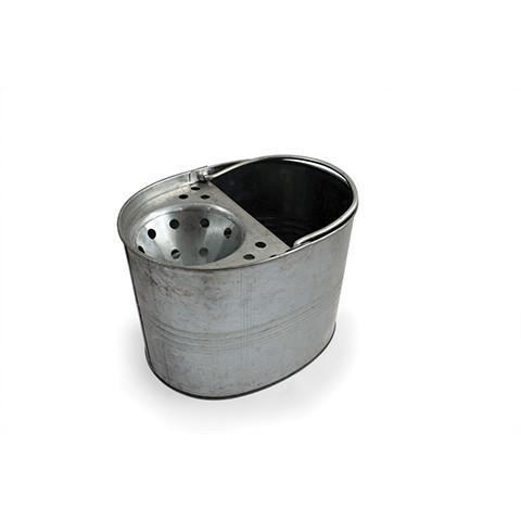 Galvanised Metal Mop Bucket & Wringer