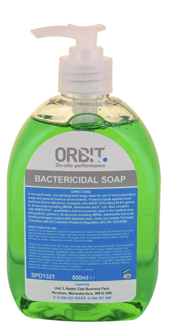 Orbit Unperfumed Hand Soap - Orbit - Hand Cleaners - Lapwing UK