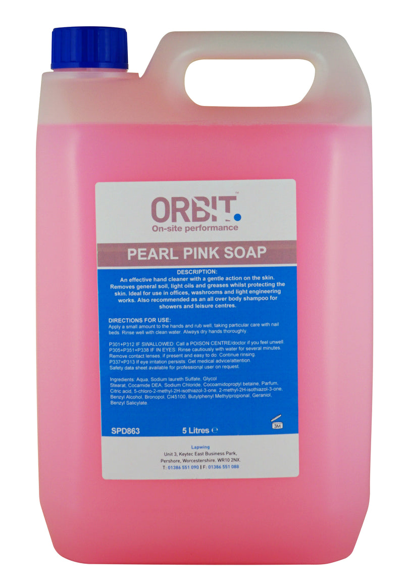 Orbit Pink Pearl Soap - Orbit - Hand Cleaners - Lapwing UK