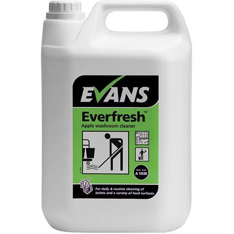 Everfresh Toilet Cleaner 5L - Orbit - Janitorial Supplies - Lapwing UK