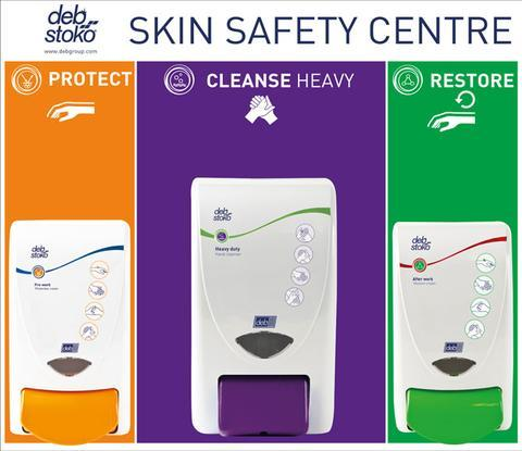Deb 3 Step Skin Protection Centre Small - Orbit - Hand Cleaners - Lapwing UK