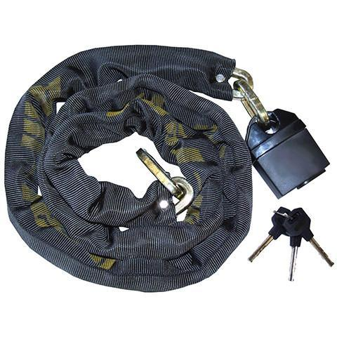 Square Link Nylon Sleeved Chain - Orbit - Site Security - Lapwing UK