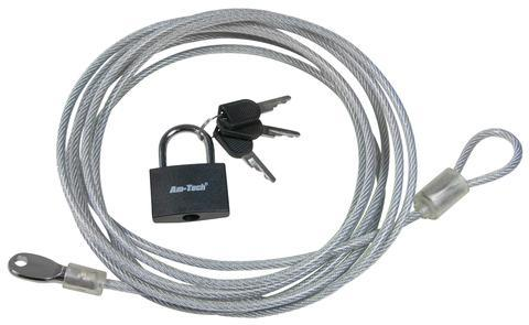 3M Security Cable & Padlock