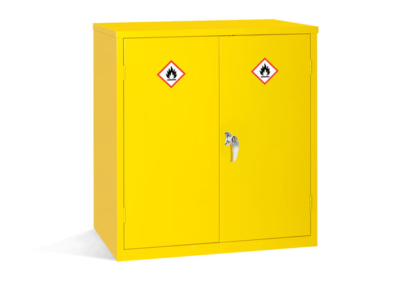 Yellow Flammable Cabinet