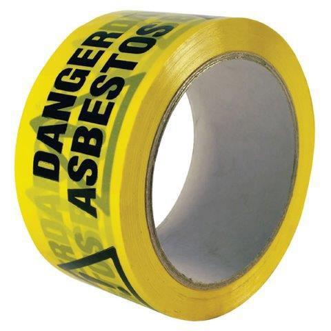 Asbestos Warning Tape - Orbit - Tapes - Lapwing UK