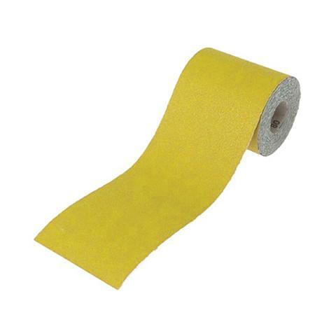 Yellow Sandpaper Rolls - Zeneka - Abrasives, Cutting & Grinding - Lapwing UK