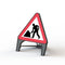 Plastic Road Sign - Men At Work - Orbit - Temporary Road Signs - Lapwing UK