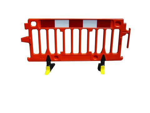 Avalon 2 Metre Safety Barrier Orange - Orbit - Traffic Management - Lapwing UK