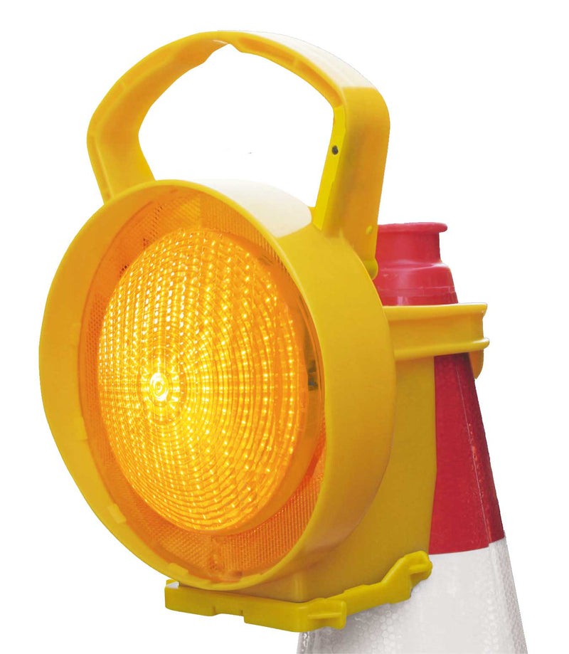 Nissen Conilamp LED Amber Cone Lamp - Orbit - Traffic Management - Lapwing UK