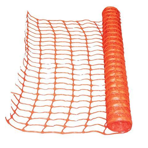 Orange Safety Barrier Fence Netting - Orbit - Setting Out Tools - Lapwing UK