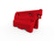 Hog Stackable Traffic Barrier - Red - Orbit - Traffic Management - Lapwing UK