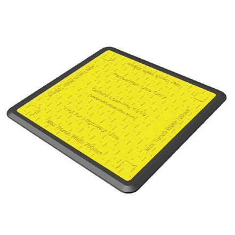 Low Profile Rubber Edge Pedestrian Cover - Orbit - Traffic Management - Lapwing UK