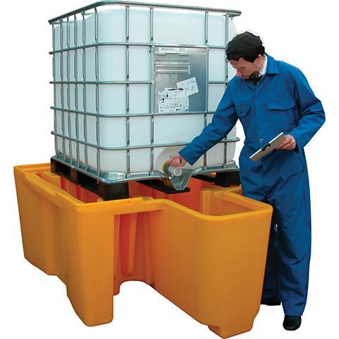 IBC Bunded Spill Pallet - Orbit - Pollution Control - Lapwing UK