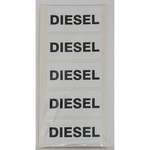 Diesel Fuel Can Sticker - Orbit - Liquid Storage - Lapwing UK