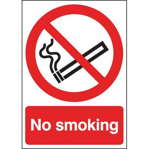 Safety Stickers No Smoking - Orbit - Safety Signage - Lapwing UK