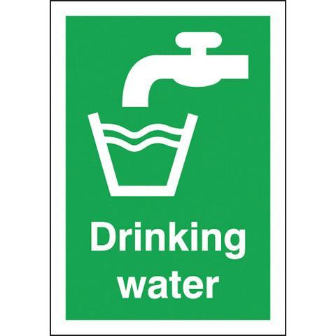 Safety Signs Drinking Water