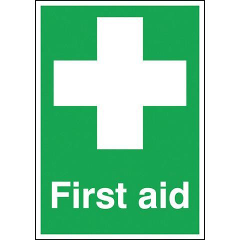 Safety Signs First Aid