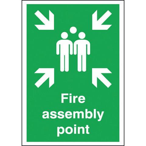 Safety Signs Fire Assembly Point - Orbit - Safety Signage - Lapwing UK