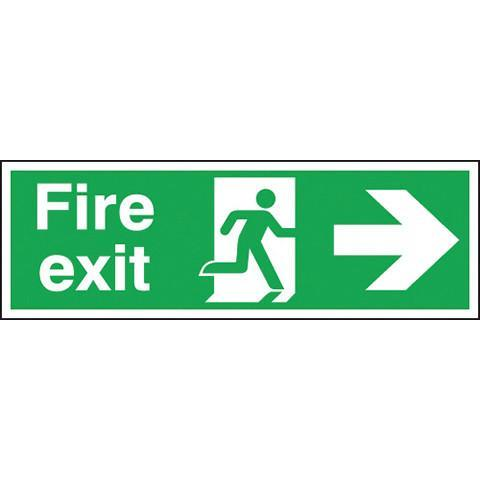 Safety Signs Fire Exit Right