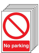 Safety Signs No Parking - Orbit - Safety Signage - Lapwing UK