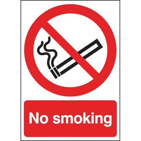 Safety Signs No Smoking - Orbit - Safety Signage - Lapwing UK