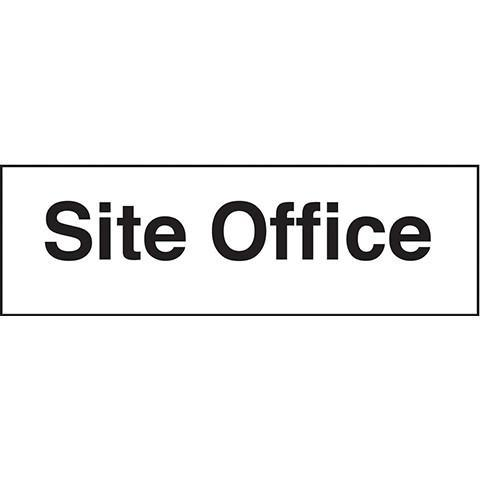 Site Office Sign - Orbit - Safety Signage - Lapwing UK
