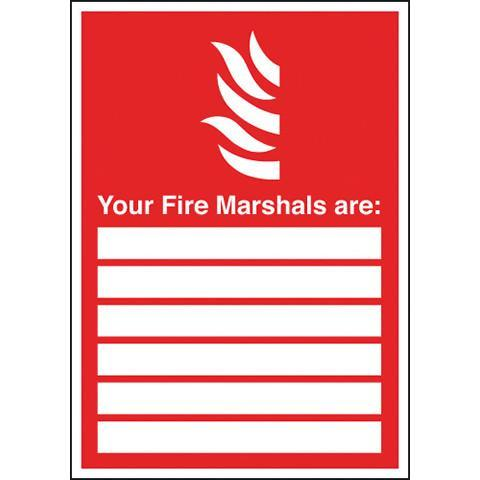 Signs Your Fire Marshalls Are - Orbit - Fire Protection - Lapwing UK