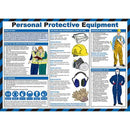 Wall Chart Personal Protective Equipment - Orbit - Safety Signage - Lapwing UK