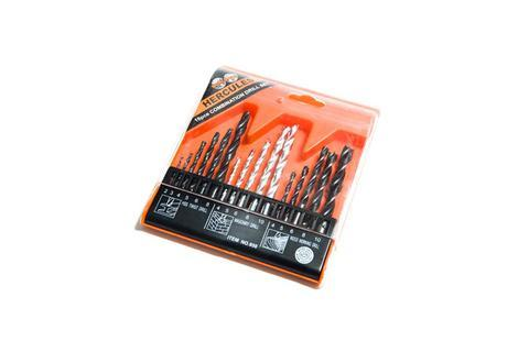 16pc Combination Drill Bit Set - Incision - Breaking, Drilling & Sawing - Lapwing UK