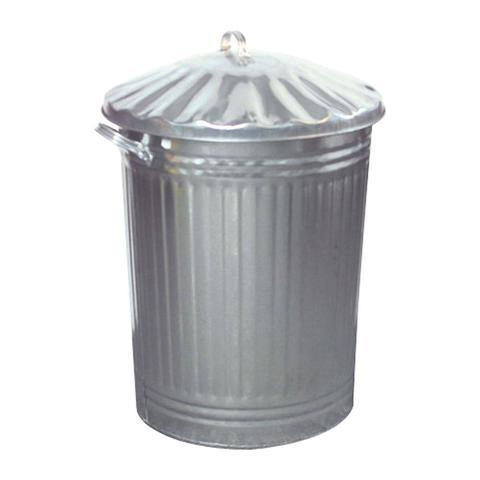Galvanized Dustbin & Lid