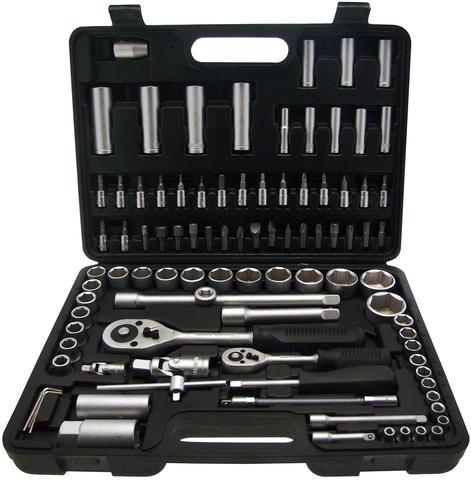 "94 Piece 1/2"" & 1/4"" Drive Socket Set 8 - 32mm - Orbit - Hand Tools - Workshop - Lapwing UK"