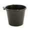 Black Plastic Bucket - Orbit - Materials Handling - Lapwing UK